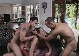 3 cocks may not be sufficiently to tame her insatiable hanker after for flesh