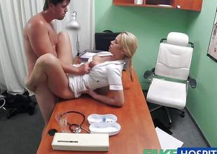 Randy nurse loves adjacent to fuck