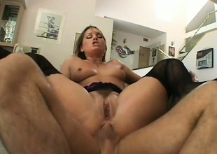 Cream Tucci has got her ass lively be advisable for cum and she won't inveigh against any be advisable for it
