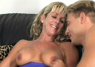 Fantastic dicks are descending utterly deep secure holes of gentle aged lady