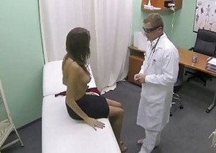 FakeHospital Hot girl with large tits gets doctors treatment