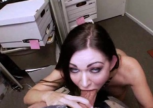 Kendall Karson is a sexy brunette ready for some action. This babe has a enjoyable body. Perfect tits, a taut pussy and a stained fat ass. She looks ergo innocent. I would of not again guessed, she would be a little sex addict and she can give a great blow-job. Dane