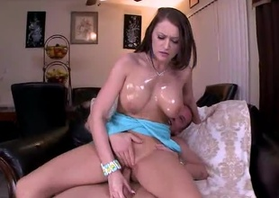 Y'all better hold on tight cause we got the hawt and hawt Alexis Grace...gracing us with her goddess like presence on this week's Big Tit Sex cream Pie. Not only does she have legs to her chin, impede she's got beamy 'ol mouth watering titties. And her pussy....man