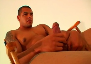 Do you like really big, dark, soft-skinned, hairless, muscular dudes with the most incredible body anywhere? If so, you are plan to be forsaken for days certificate watching this video.  Lorenzo Vargas walks into the shut fully nude, with his astounding ass stuffing