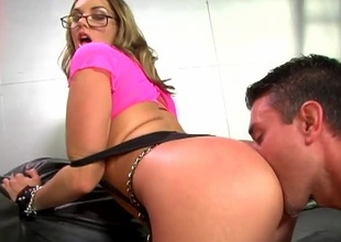 If you would have to chose a girl be expeditious for her ass, you would have to value Brianna Love. She has one of the nicest non-restricted booty around! Watch painless this babe gets battered in grease someone's palm before being splattered in cum...