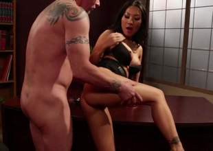 Hawt asian porn diva Asa Akira with hot legs and thorough firm interior gets her constricted neatly shaved pussy stuffed previous to she takes it in her asshole. Asa Akira loves rear end banging so much!