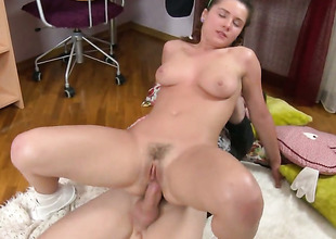 Good looking whore is totally fuckable in the irritant