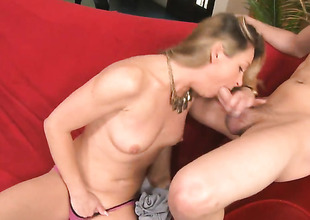 Xander Corvus gives unthinkably hot Amanda Blows bush a try in moistness porn action