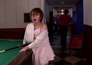 Redhead Japanese slut having her muff throbbed hard prevalent this compilation scenes