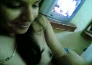 My Indian web camera ally shows their way natural tits to me