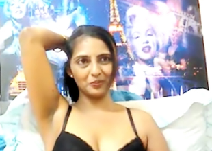 Indian mom strips on webcam