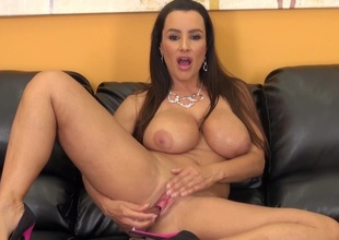 Gorgeous MILF Lisa Ann Put up with