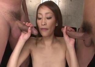 Yuu Kusunoki likes having her wet vag drilled hard