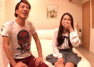 Yamaguchi Niina Gets Her Hairy Twat Drilled Good