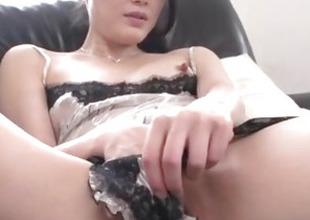 Kyoko Nakajima, perky tits doll, screwed and made just about swallow