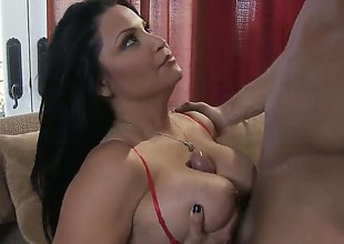 Danny Mountain drills dangerously seductive Sophia Lomelis love hole in every sex positon