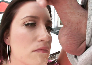 Kimberly Kane gets her soaking juicy pussy used by hot guy