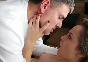 Kristina Rose and hot stud Michael Stefano enjoy anal sex too much to stop