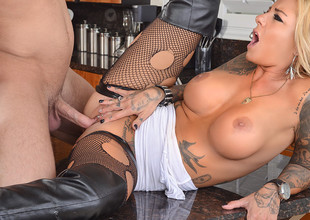 Britney Shannon  & Seth Try one's luck in My Wife Shot Join up