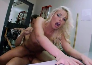 Britney Amber is a sexy PornStar alongside huge tits and a fat ass. Available to take on her tight pussy fucked on today's update be advisable for BackRoomFacials. Britney Amber sucks the dick wonderful and take on her pussy banged out until take on a load be advisable for cum dumped on her pretty face. Enjo