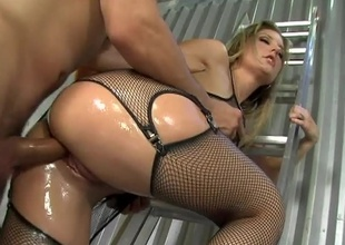 The all undevious Avy Scott is such a hot little Nymphette! Watch painless this blossoming beauty gets her botheration splattered in caring oil! Your going to target it was you basting her in preparation for a good, hard fucking! There's nothing like cramming your cock unfathomable