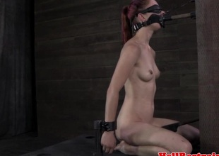 NT dominated babe clit stimulated