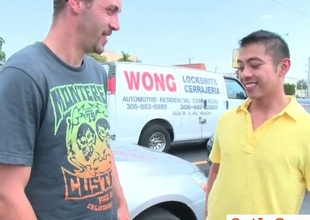 Guy picks up asian guy for sex
