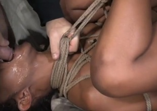Skilled chain servitude makes the undressed girl an simple have sexual intercourse