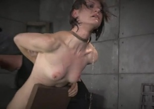 Bound girl dunked in a tub as she suffers