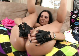 Dour Ava Addams with bubbly booty cant live a girlfriend out of getting fucked by sexually roused guy